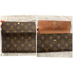 Louis Vuitton Bags - SOLD❌Authentic Louis Vuitton Monogram Sarah Wallet